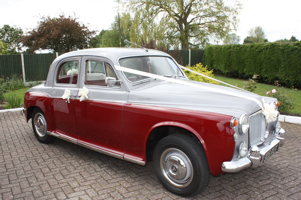 1963 Rover P4-100 SOLD (picture 1 of 6)