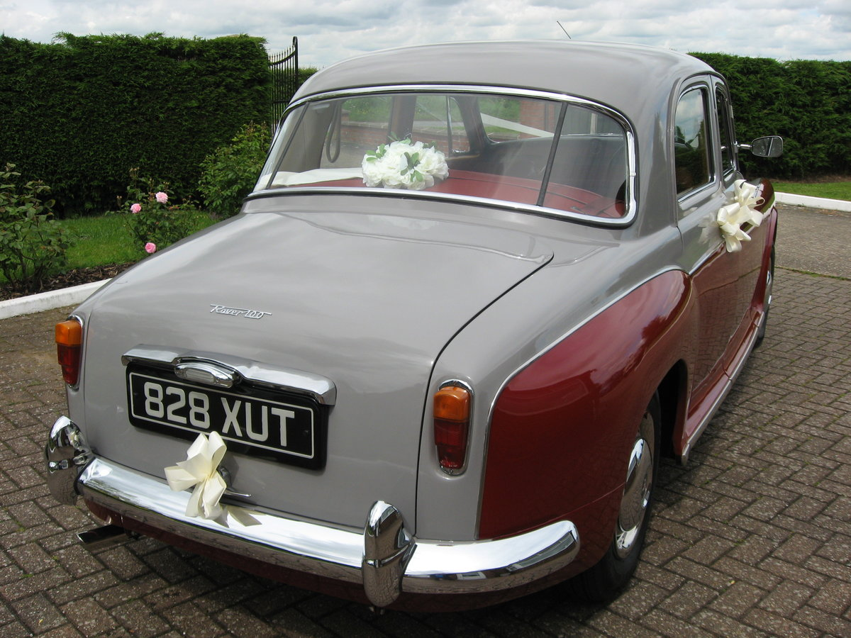 1963 Rover P4-100 SOLD (picture 3 of 6)