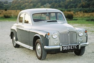 rover p4 105s 1957