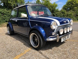 1999  Rover Mini Cooper Sportspack. Cream leather. Electric roof