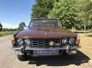 1973 Rover P6 3500S (HC) rarer 'S' manual - SOLD SOLD