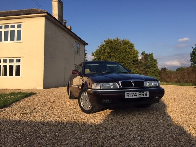 1997 Rover 825 Coupe (Manual) For Sale (picture 1 of 6)