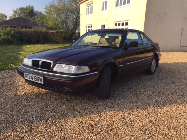 1997 Rover 825 Coupe (Manual) For Sale (picture 3 of 6)