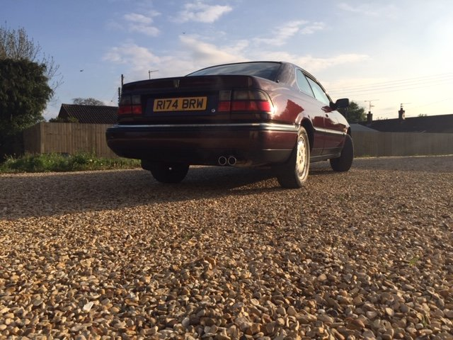 1997 Rover 825 Coupe (Manual) For Sale (picture 6 of 6)