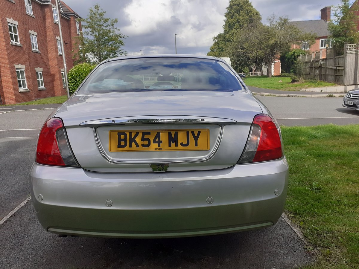 2004 Rover 75 Contemporary SE A real show stopper For Sale (picture 3 of 6)