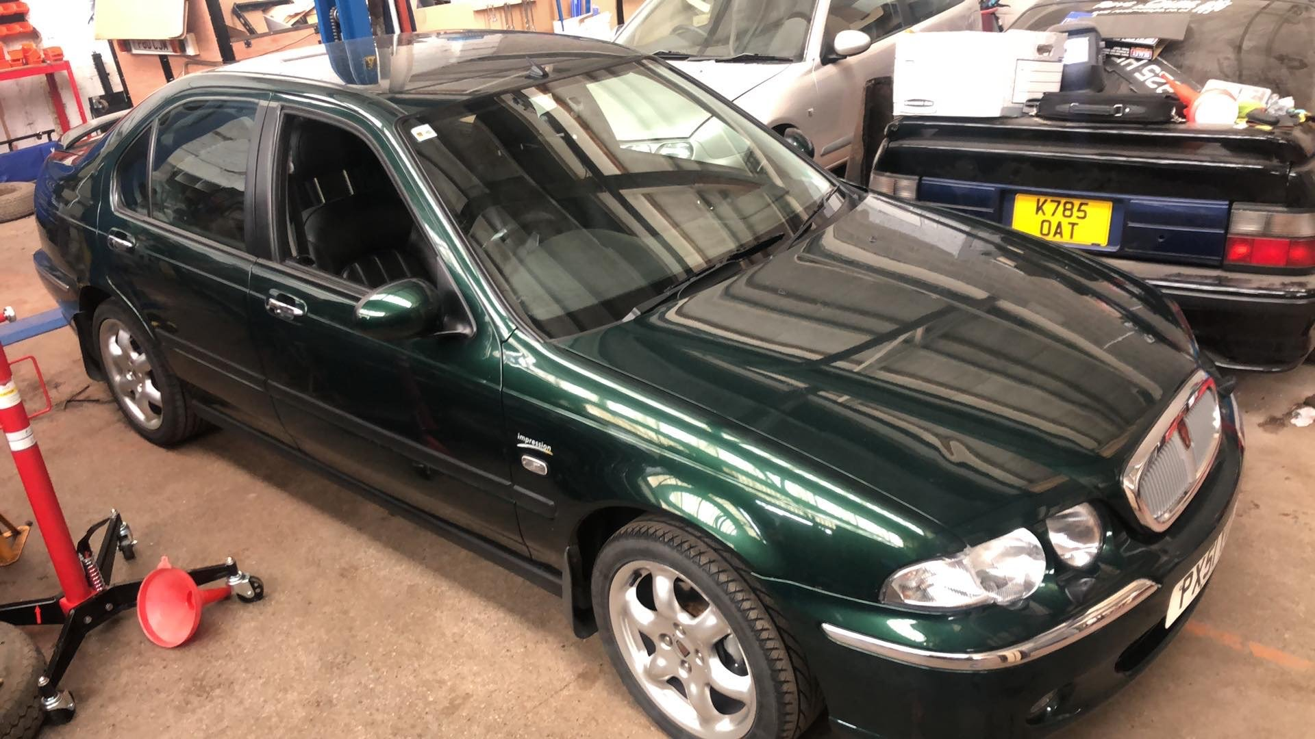 2001 Rover 45 Connoisseur 49k For Sale (picture 1 of 6)