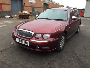 2001 Stunning Rover 75 Connoisseur Diesel Est in Copperleaf Red