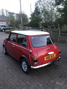 1991 Mini Cooper 1275 restored with new shell