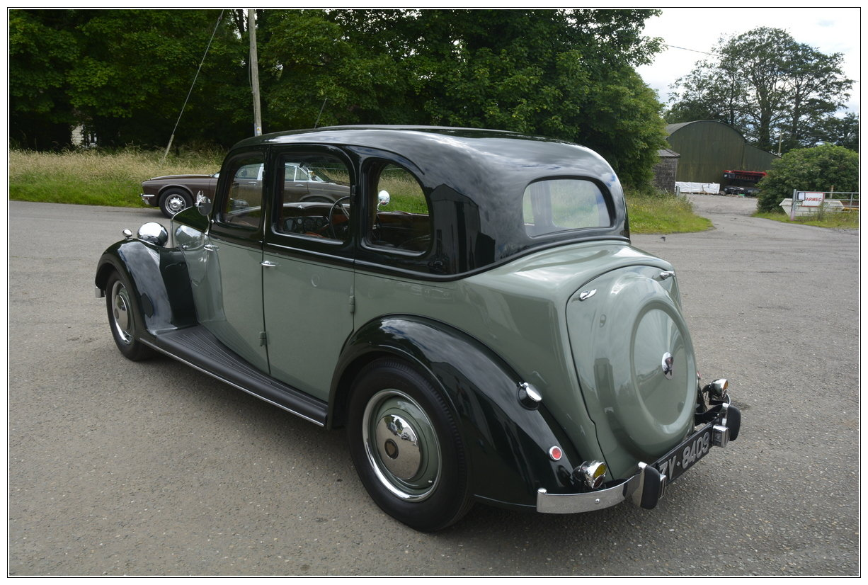1947 Rover P2  SOLD (picture 3 of 6)