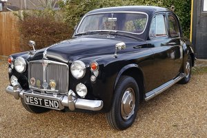 Rover P4 95 Six Cylinder 1963  with Power Steering