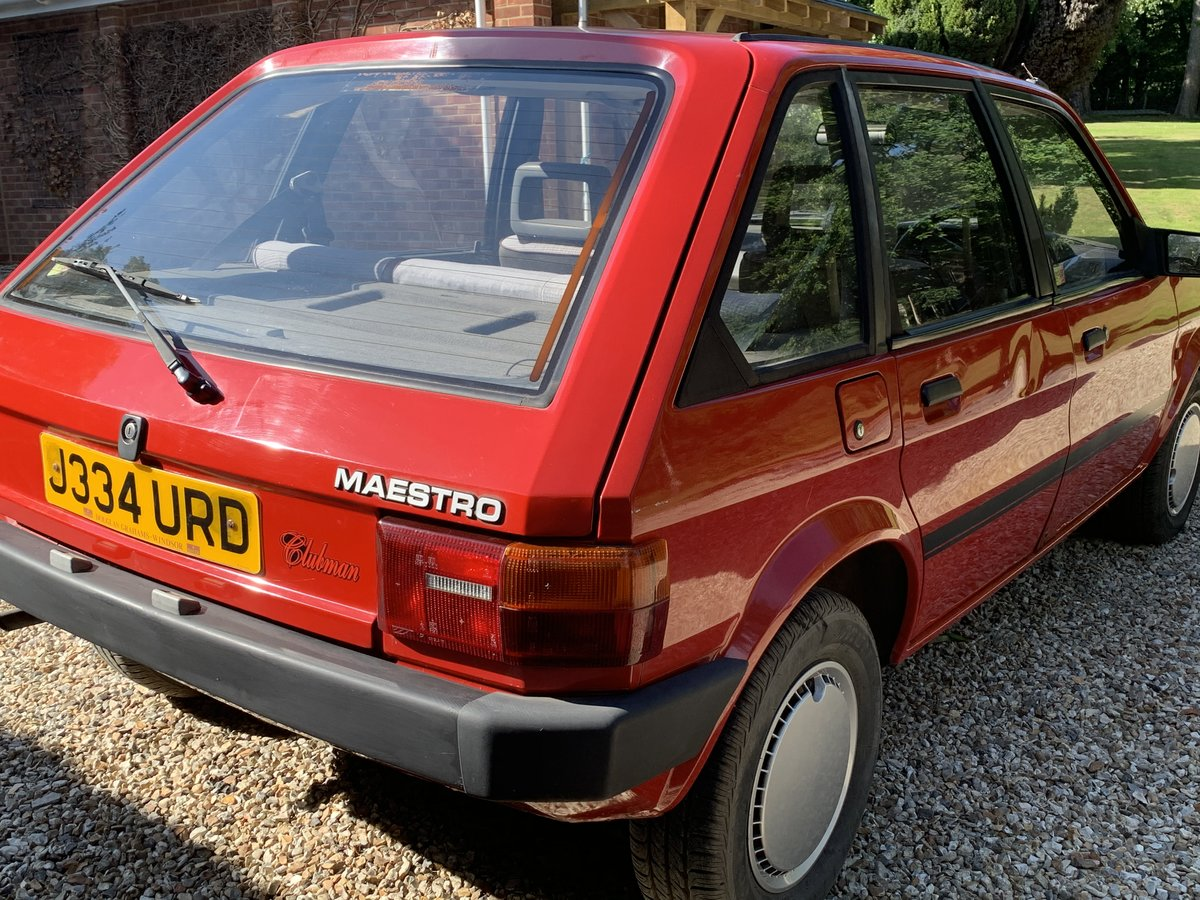 1992 Rover Maestro Clubman 1.3 - Only 15k Miles For Sale (picture 2 of 6)