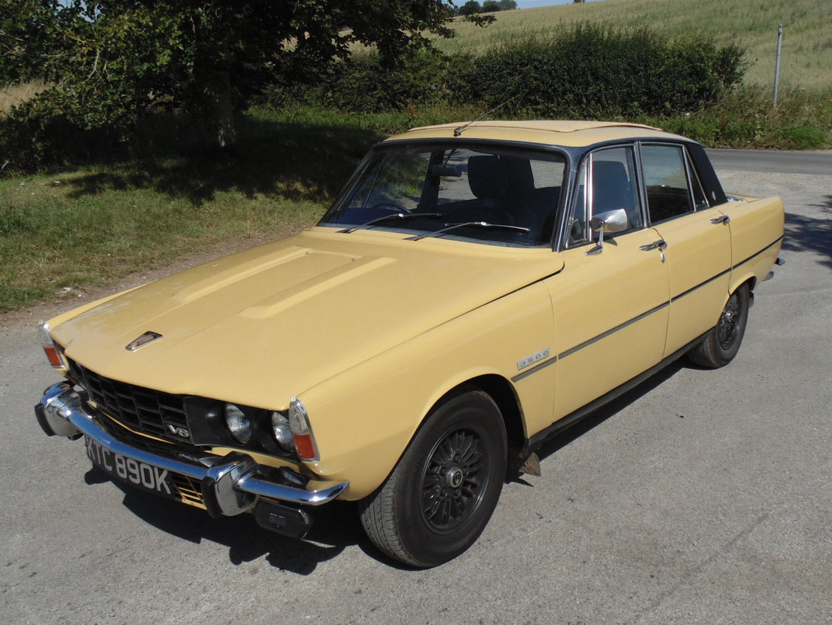 1972 Rover 3500 For Sale (picture 1 of 6)