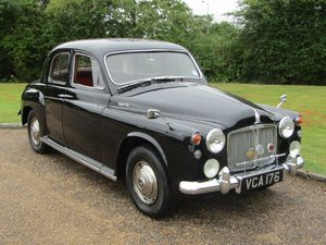 1960 Rover P4 100 at ACA 22nd August