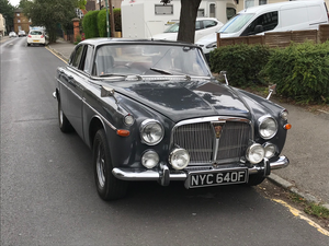 Rover P5 Coupe - Historic Rally Car