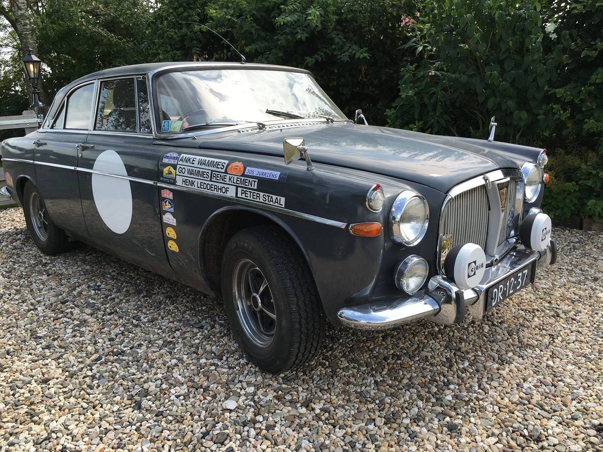1967 Rover P5 Coupe - Historic Rally Car SOLD (picture 6 of 6)