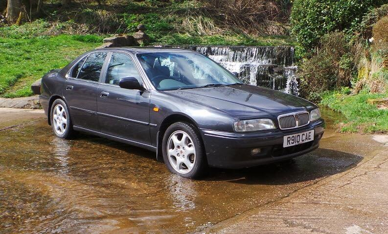 1997 Rover 620Ti, 116k miles, MOT July 2021 SOLD (picture 1 of 6)