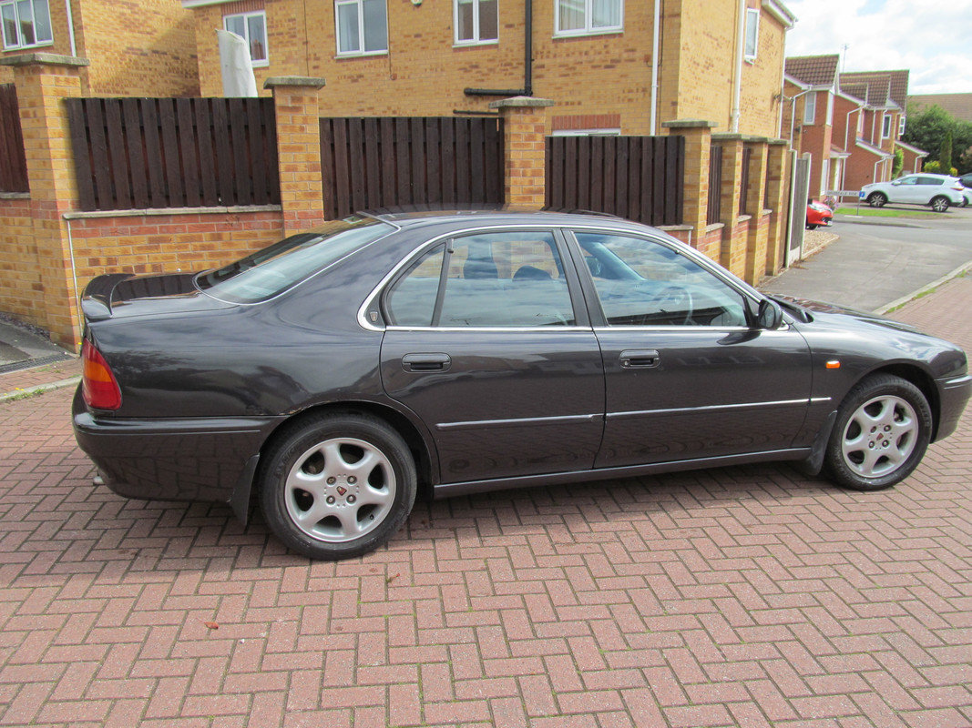 1997 Rover 620Ti, 116k miles, MOT July 2021 SOLD (picture 2 of 6)