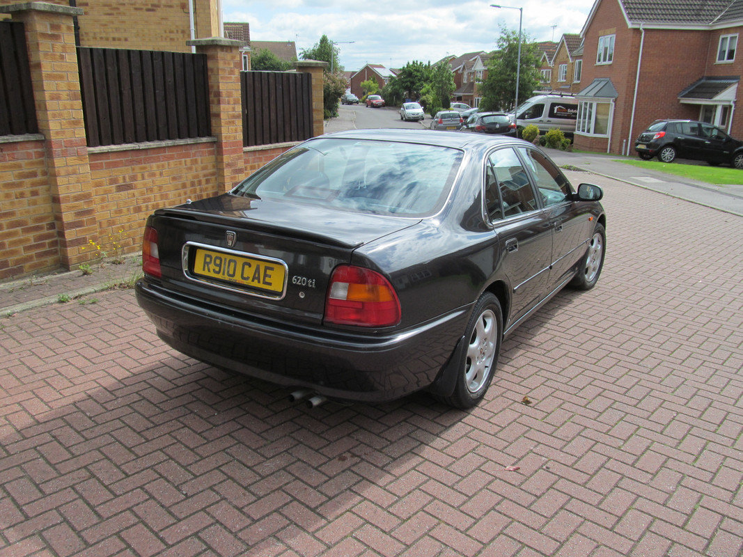 1997 Rover 620Ti, 116k miles, MOT July 2021 SOLD (picture 3 of 6)