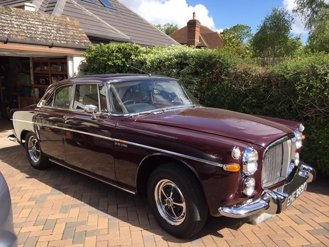 1971 Rover P5B Coupe SOLD (picture 1 of 6)