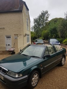 Rover 214 Cabriolet manual Low Millage