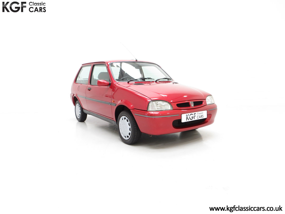 1996 A Fabulous Rover 114SLi with 9,876 Miles For Sale (picture 1 of 24)