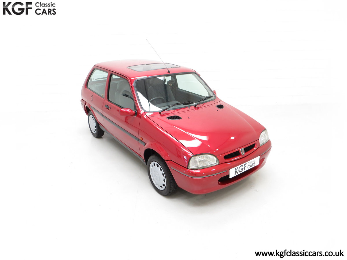 1996 A Fabulous Rover 114SLi with 9,876 Miles For Sale (picture 2 of 24)