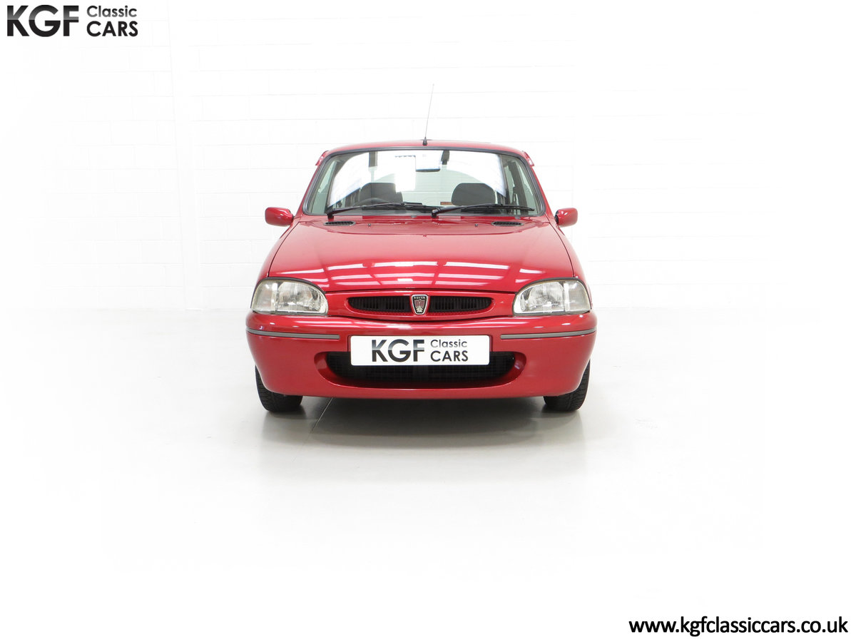 1996 A Fabulous Rover 114SLi with 9,876 Miles For Sale (picture 3 of 24)