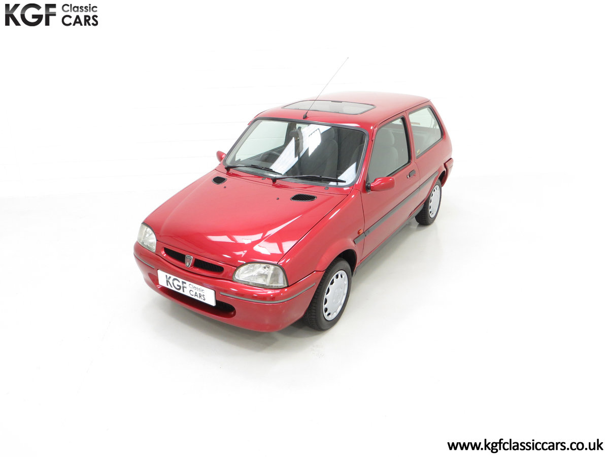 1996 A Fabulous Rover 114SLi with 9,876 Miles For Sale (picture 5 of 24)