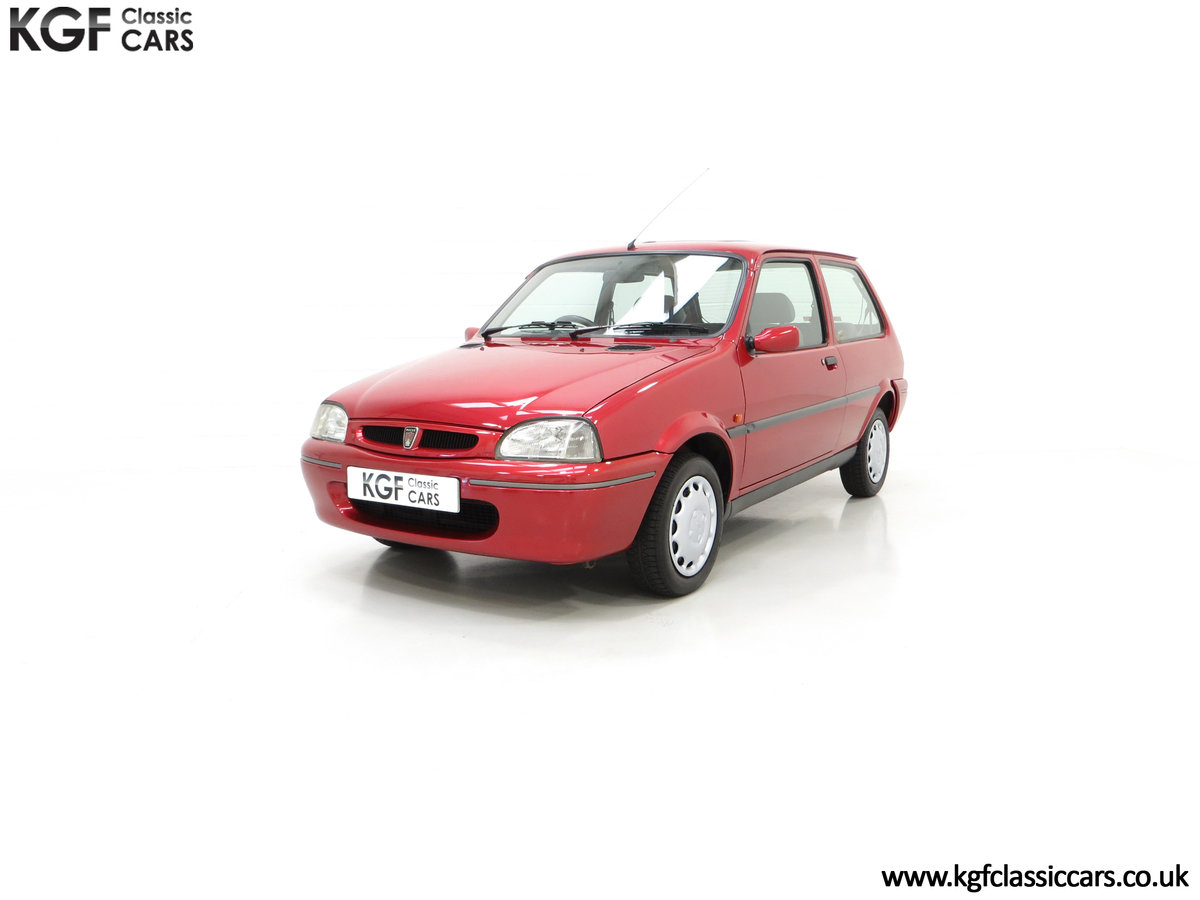 1996 A Fabulous Rover 114SLi with 9,876 Miles For Sale (picture 6 of 24)