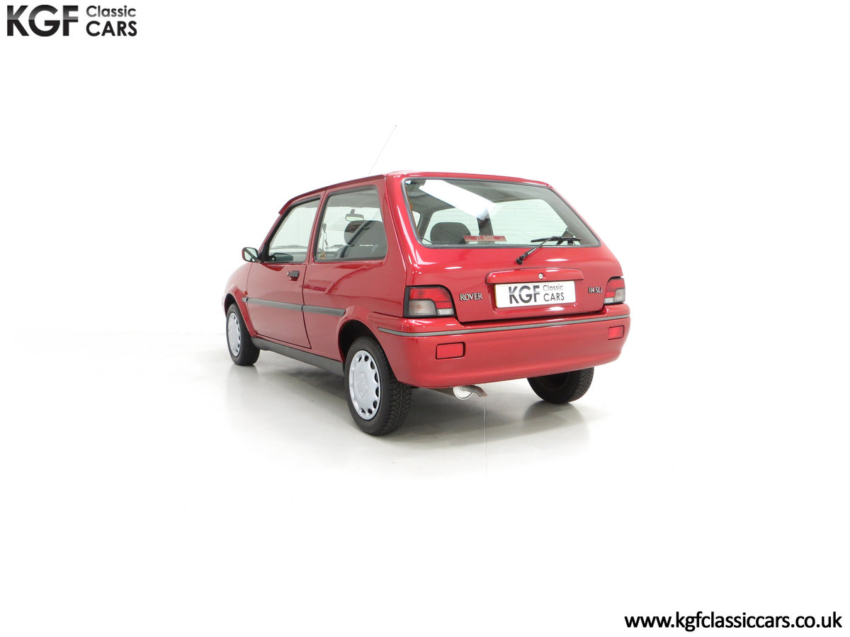 1996 A Fabulous Rover 114SLi with 9,876 Miles For Sale (picture 8 of 24)