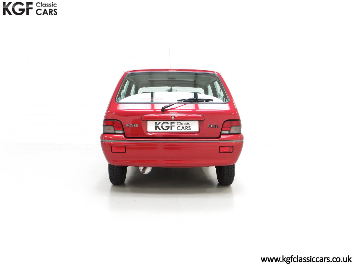 1996 A Fabulous Rover 114SLi with 9,876 Miles For Sale (picture 10 of 24)