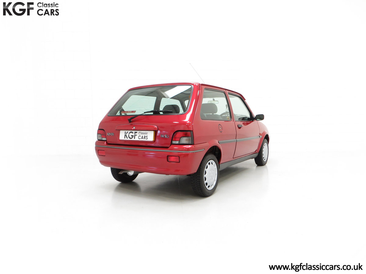 1996 A Fabulous Rover 114SLi with 9,876 Miles For Sale (picture 13 of 24)