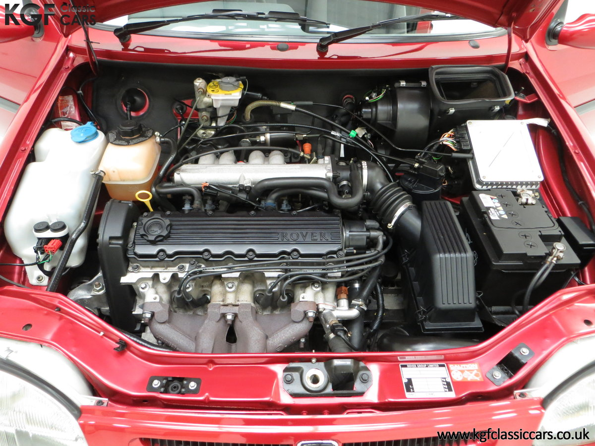 1996 A Fabulous Rover 114SLi with 9,876 Miles For Sale (picture 15 of 24)