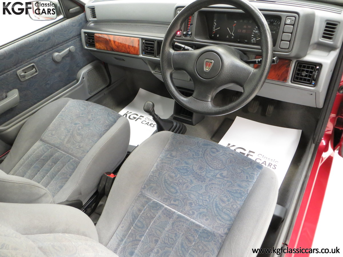 1996 A Fabulous Rover 114SLi with 9,876 Miles For Sale (picture 18 of 24)