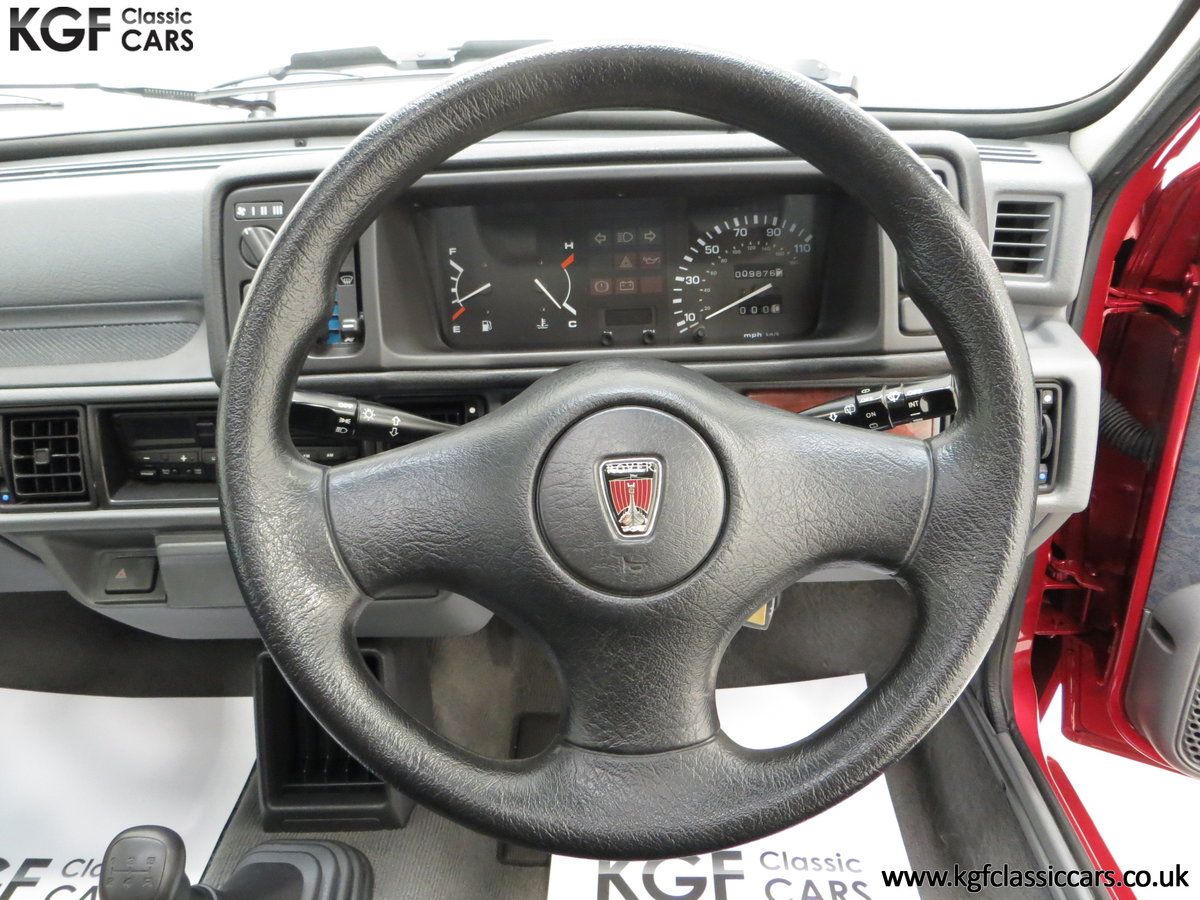 1996 A Fabulous Rover 114SLi with 9,876 Miles For Sale (picture 23 of 24)