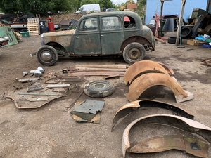 1937 Rover p2 12 barn find for restoration hot rod rat