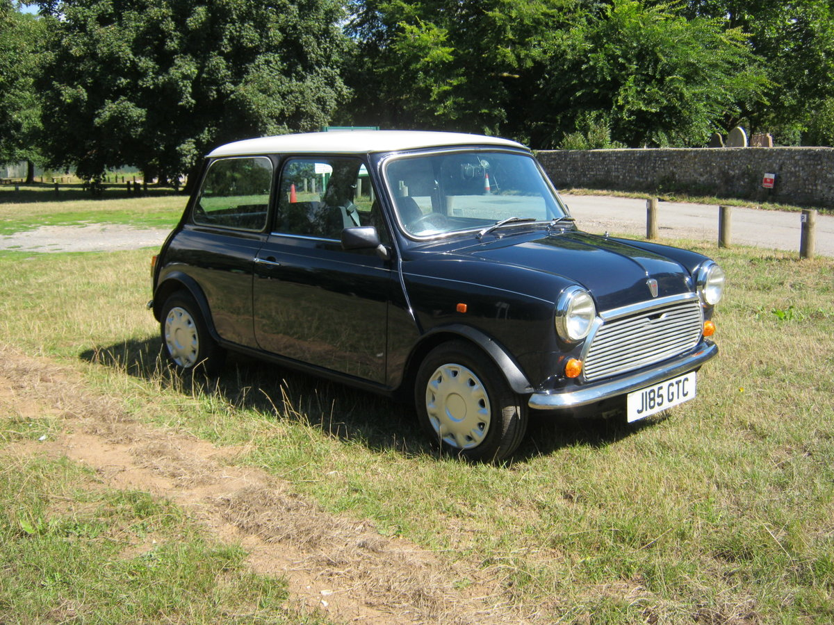 1992 ROVER MINI MAYFAIR AUTOMATIC. 1275cc. ONLY 33,000 For Sale (picture 1 of 6)