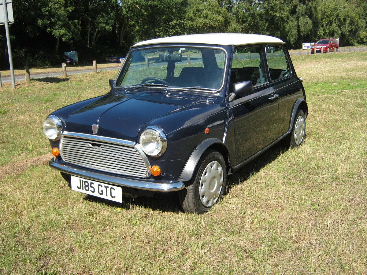 1992 ROVER MINI MAYFAIR AUTOMATIC. 1275cc. ONLY 33,000 For Sale (picture 2 of 6)