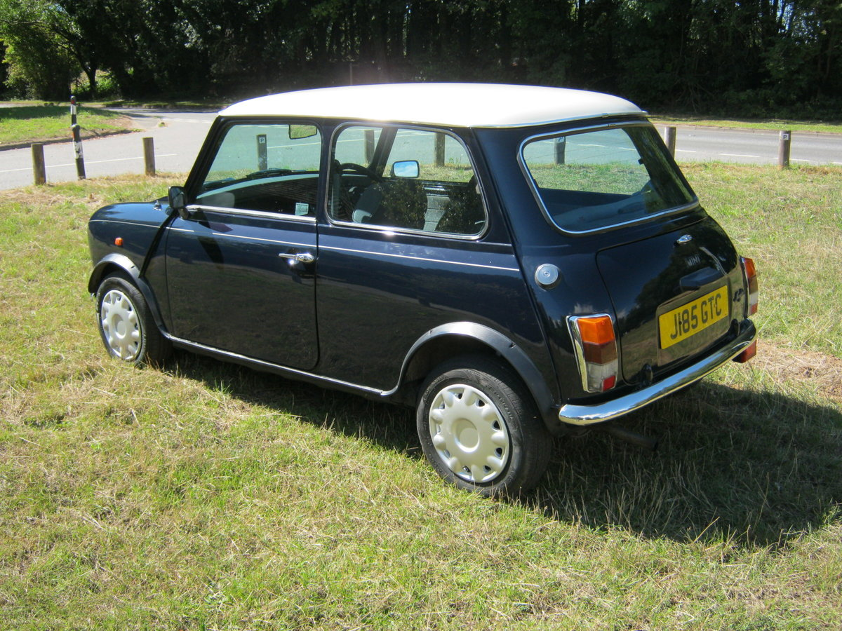 1992 ROVER MINI MAYFAIR AUTOMATIC. 1275cc. ONLY 33,000 For Sale (picture 3 of 6)