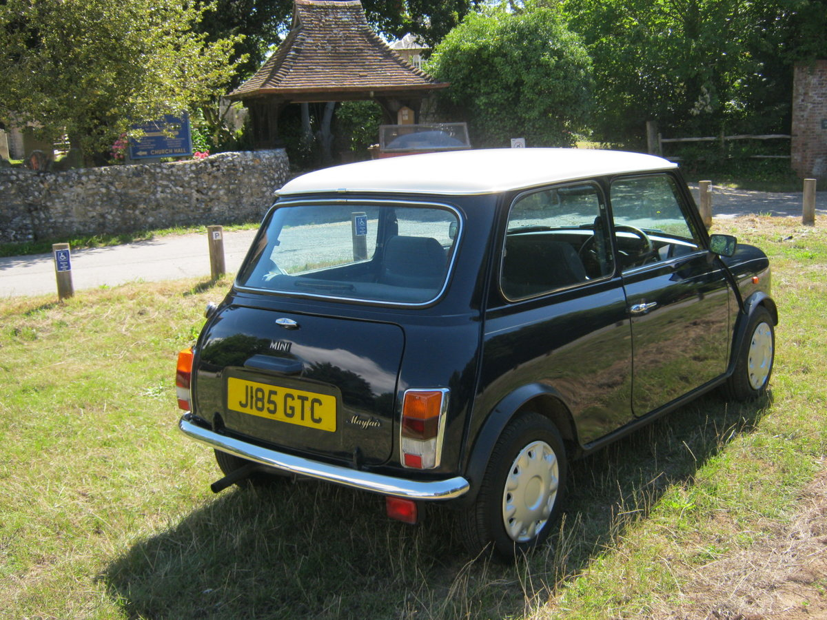 1992 ROVER MINI MAYFAIR AUTOMATIC. 1275cc. ONLY 33,000 For Sale (picture 4 of 6)