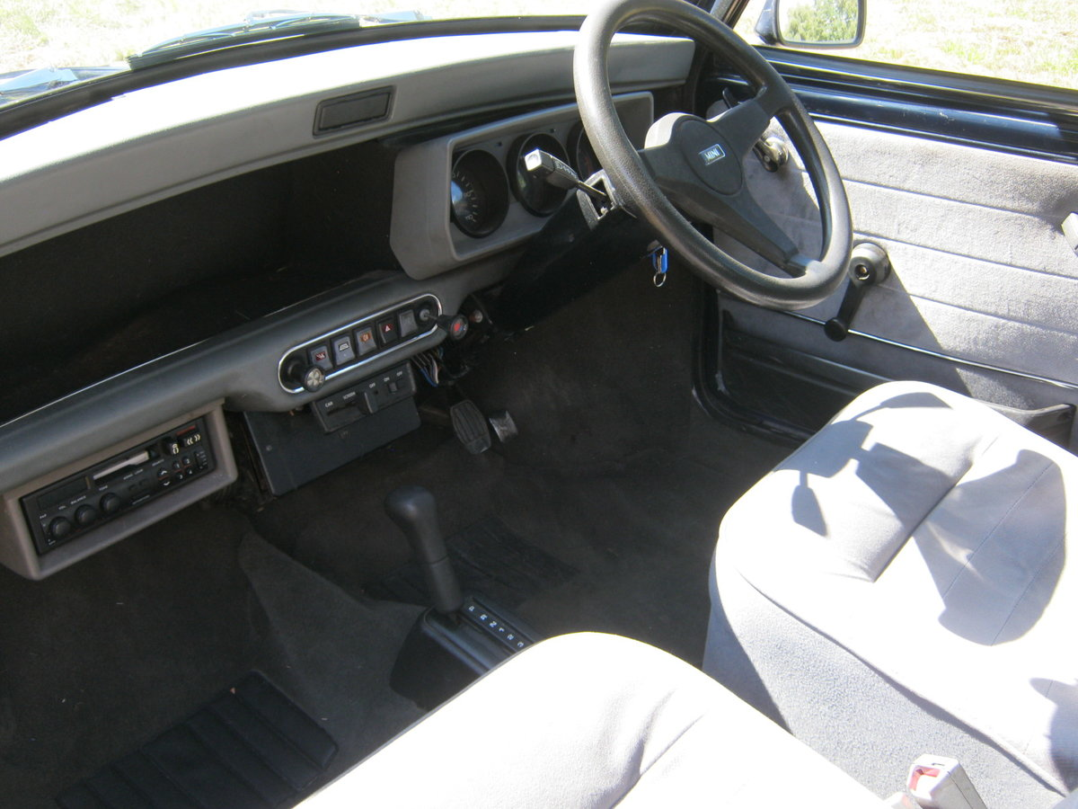 1992 ROVER MINI MAYFAIR AUTOMATIC. 1275cc. ONLY 33,000 For Sale (picture 5 of 6)