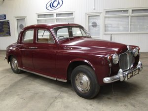 1964 Rover P4 110 NO RESERVE at ACA 22nd August