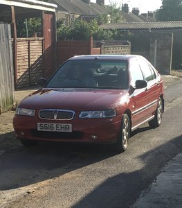1998 Great condition Red Rover 414S- 1 owner, low miles