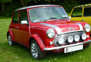 2001 Rover Mini Cooper Sport 500 Limited Edition