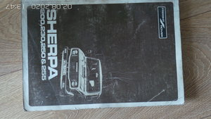Sherpa workshop manual