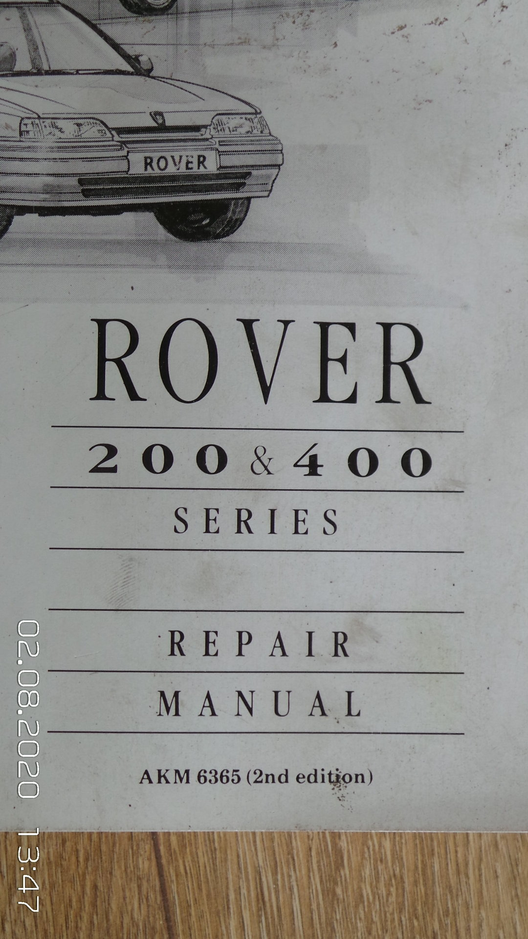 Rover 400 workshop manual For Sale (picture 2 of 3)