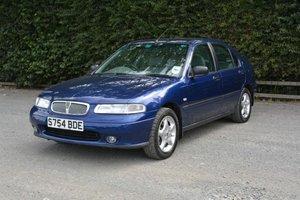 1998 Rover 400 GSI 2/0-litre