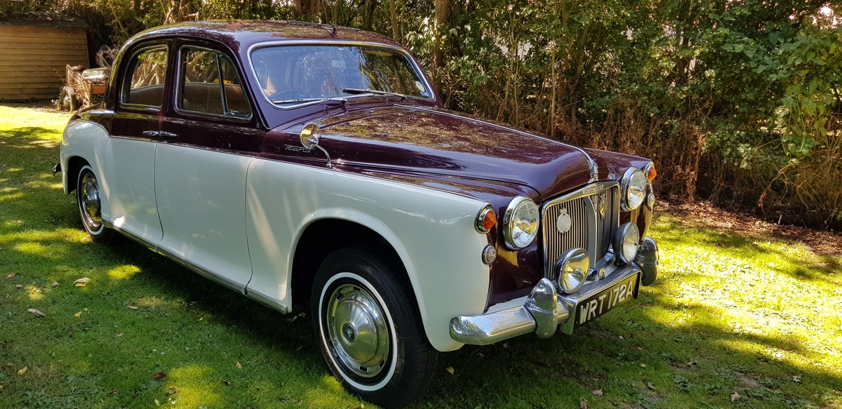 1963 Very attractive Rover p4 110 For Sale (picture 1 of 6)