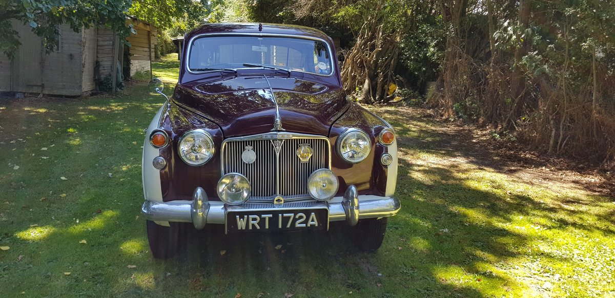 1963 Very attractive Rover p4 110 For Sale (picture 2 of 6)