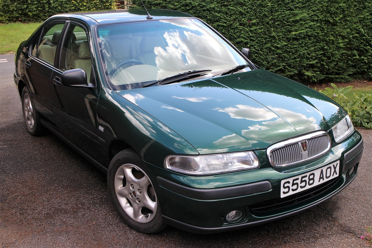 1999 Rover 400 GSI 4dr Saloon For Sale (picture 1 of 6)